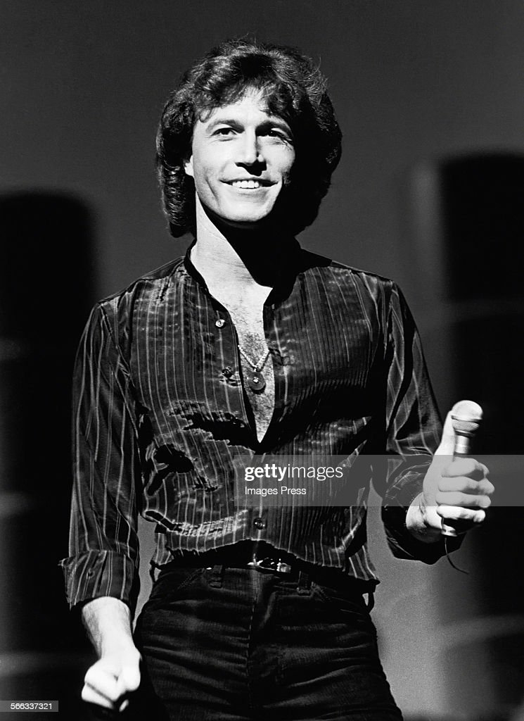 Andy Gibb circa 1982 in New York City. Show more