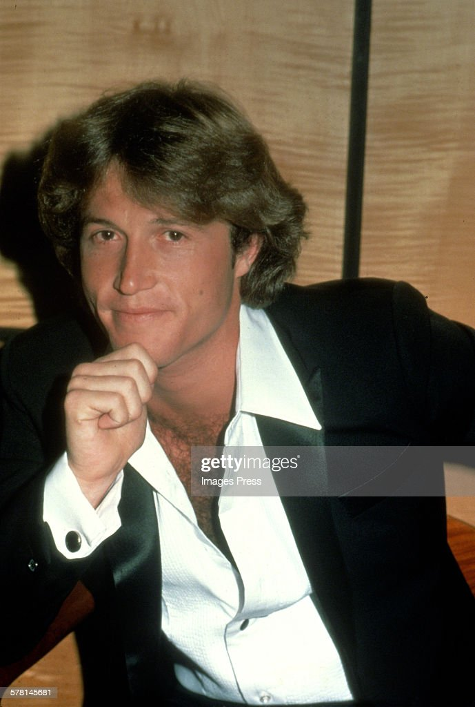 Andy Gibb of the Bee Gees circa 1981 in New York City. Show more