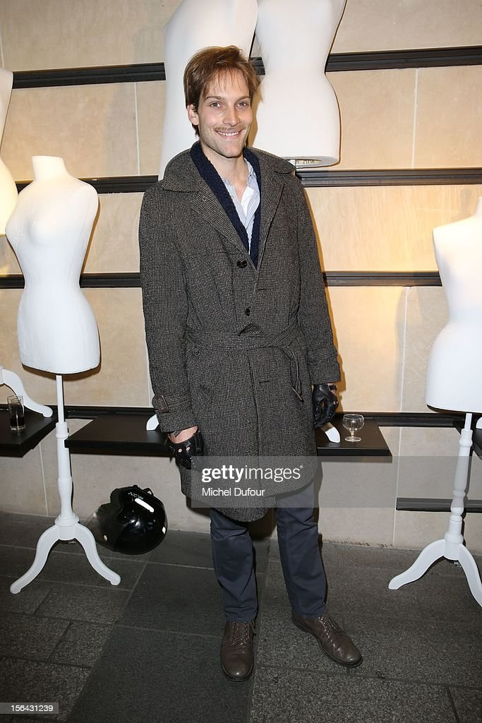 Andy Gilet attends the Maison Martin Margiela With H&M Collection Launch at H&M Champs Elysees on November 14, 2012 in Paris, France.