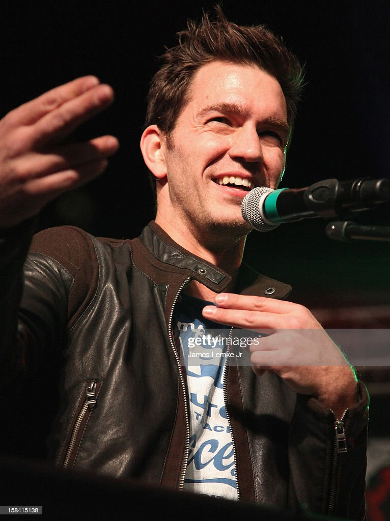 Andy Grammer attends the 3rd Annual Rock The Red Kettle Concert Benefitting The Salvation Army held at the Nokia Theatre L.A. Live on December 15, 2012 in Los Angeles, California.