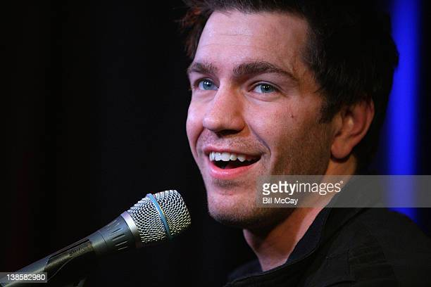 Andy Grammer performs at Radio Station WISX iHeartradio Performance Theatre February 9 2012 in Bala Cynwyd Pennsylvania