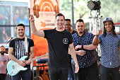 Andy Grammer performs on NBC's 'Today' at Rockefeller Plaza on July 24 2015 in New York City