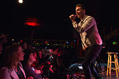Andy Grammer performs on stage at The Showbox on February 24 2015 in Seattle Washington