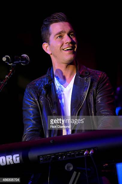 Andy Grammer performs onstage at the Paradigm Party during Day 2 of the IEBA 2014 Conference on September 28 2014 in Nashville Tennessee