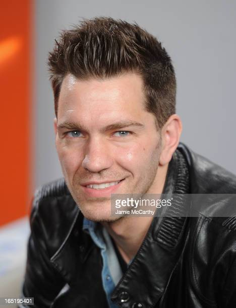 Andy Grammer visits 'UA' at Music Choice on April 1 2013 in New York City