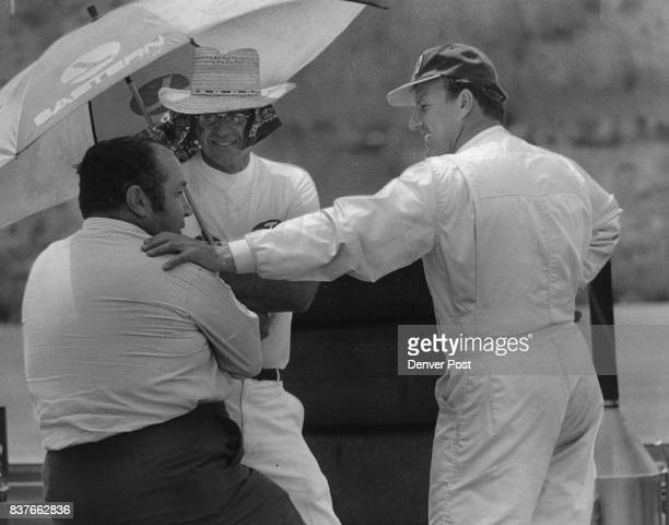 Andy Granatelli and AJ Foyt last year He qualified eighth Saturday in CDR Credit Denver Post