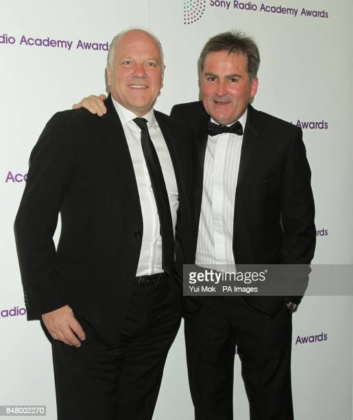 Andy Gray and Richard Keys arriving for the Sony Radio Academy Awards at the Grosvenor House hotel in central London
