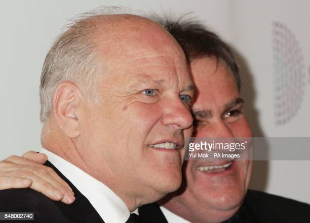 Andy Gray and Richard Keys at the Sony Radio Academy Awards at the Grosvenor House hotel in central London PRESS ASSOCIATION Photo Picture date...
