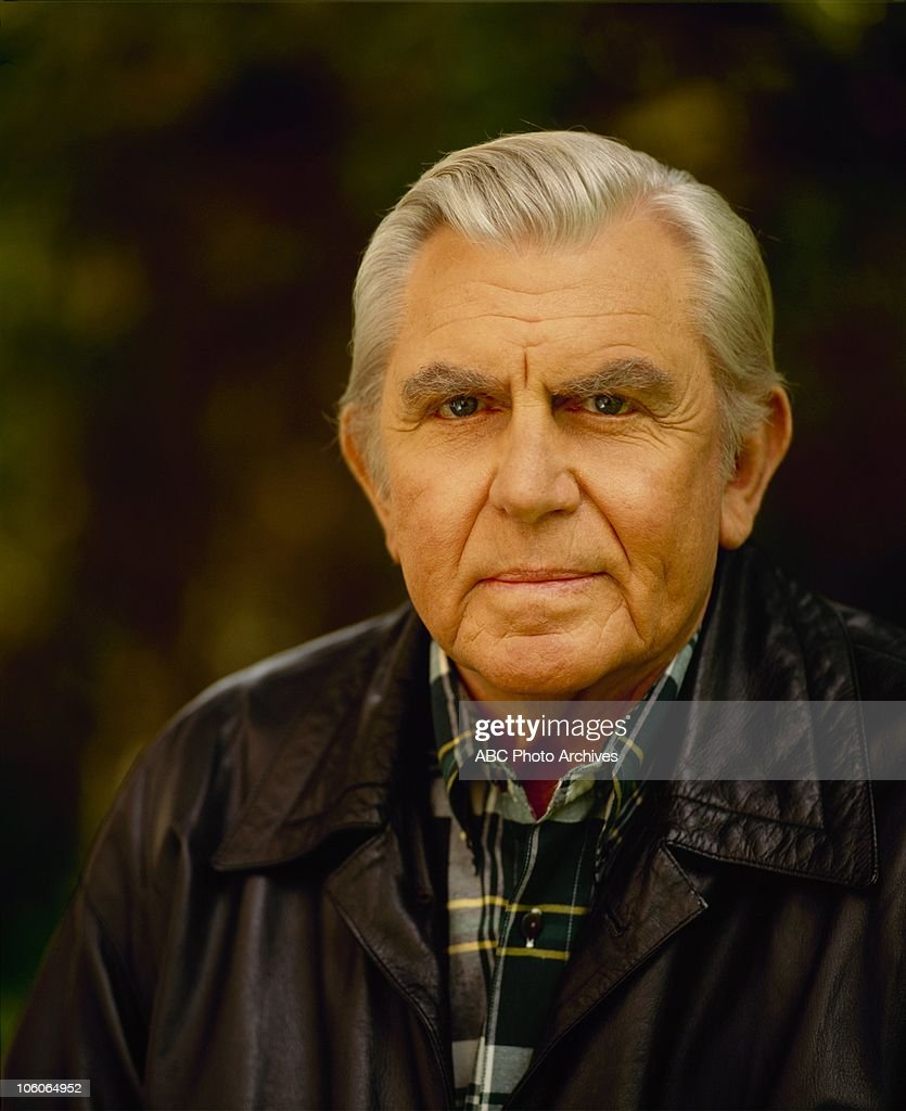 Andy griffith gallery shoot date march 30 1992 photo by abc