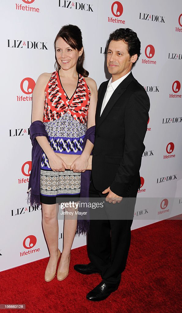 Andy Hirsch and Kate Connor arrive at the 'Liz & Dick' - Los Angeles Premiere at the Beverly Hills Hotel on November 20, 2012 in Beverly Hills, California.