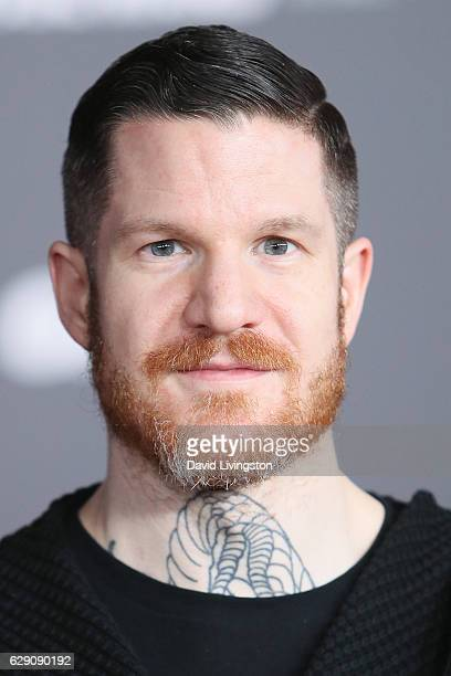 Andy Hurley of Fall Out Boy arrive at the premiere of Walt Disney Pictures and Lucasfilm's 'Rogue One A Star Wars Story' at the Pantages Theatre on...