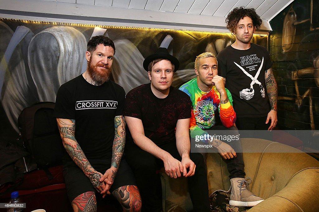 'Fall Out Boy' Portrait Shoot In Brisbane