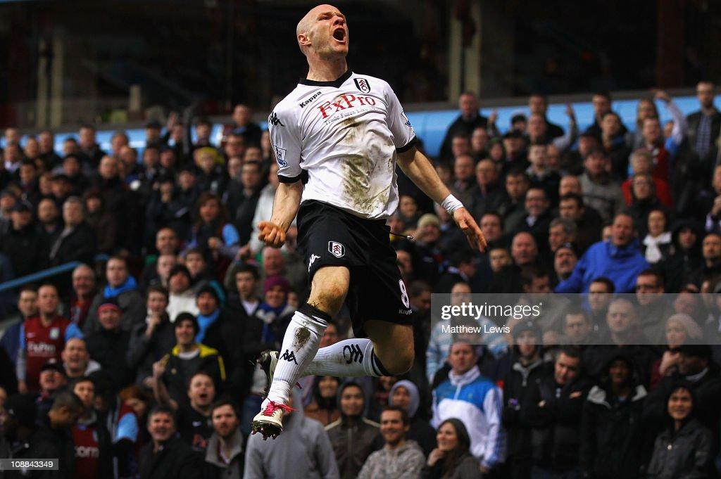 Aston Villa v Fulham - Premier League