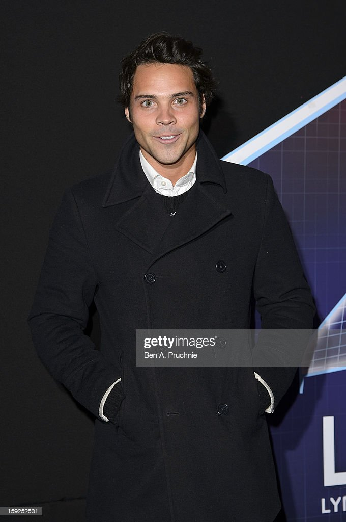 Andy Jordan attends the Lynx L.S.A launch event at Wimbledon Studios on January 10, 2013 in London, England.