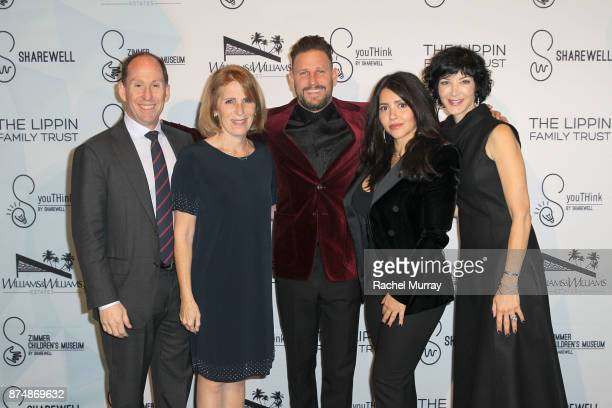 Andy Kaplan President Worldwide Networks Sony Pictures Television CEO Zimmer Children's Museum Esther Netter Honoree Branden Williams and Rayni...