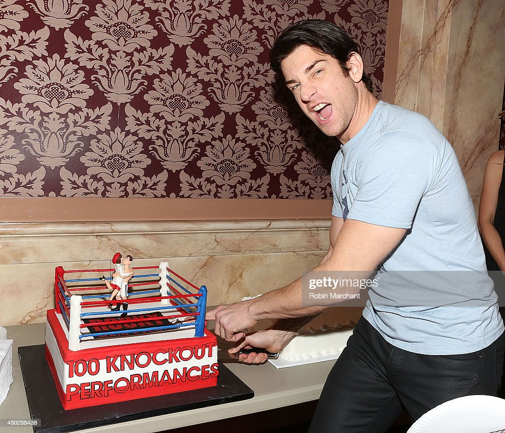 andy karl attends rocky 100 performances celebration on broadway at picture id450255438