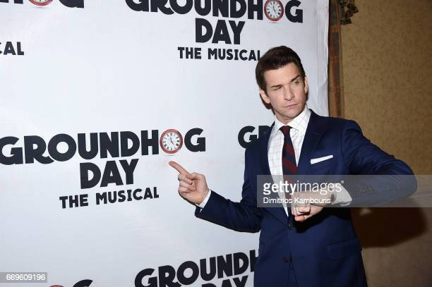 Andy Karl attends the 'Groundhog Day' Broadway Opening Night at Gotham Hall on April 17 2017 in New York City