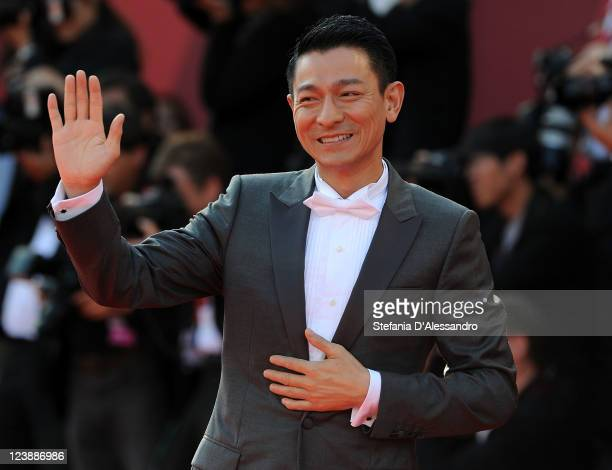Andy Lau attends 'Tao Jie' Premiere at Palazzo del Cinema on September 5 2011 in Venice Italy