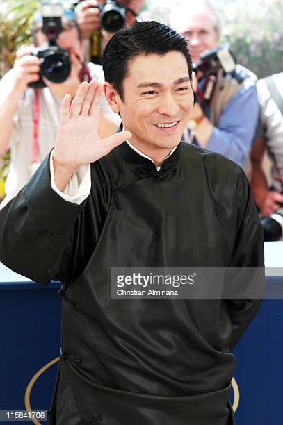 Andy Lau during 2004 Cannes Film Festival 'House Of Flying Daggers' Photocall at Palais du Festival