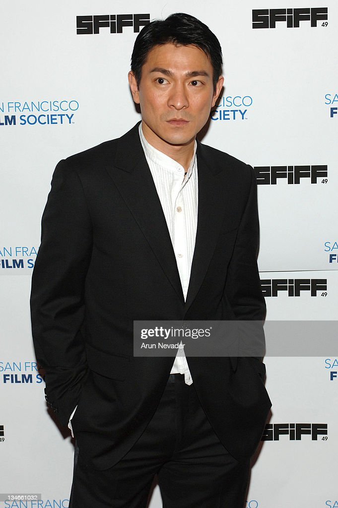 "49th San Francisco International Film Festival - ""All About Love"" - Andy Lau"
