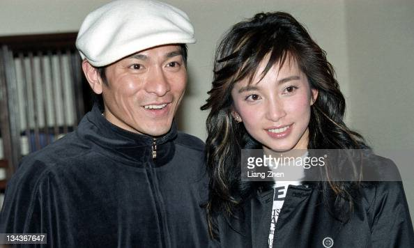 Andy Lau Li Bingbing during 'Cat and Mouse' Shanghai Press Conference in Shanghai Shanghai China