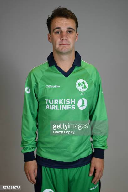 Andy McBrine of Ireland poses for a portrait at The Brightside Ground on May 4 2017 in Bristol England