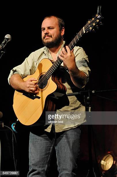 Andy McKee bei einem Konzert in der Fabrik in Hamburg