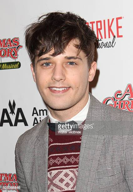Andy Mientus attending the Broadway Opening Night Performance for 'A Christmas Story The Musical' at the Lunt Fontanne Theatre in New York City on