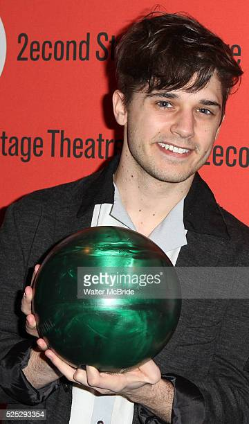 Andy Mientus attending the Second Stage Theatre's 26th Annual AllStar Bowling Classic at Lucky Strike Lanes Lounge in New York City on 2/3/2013