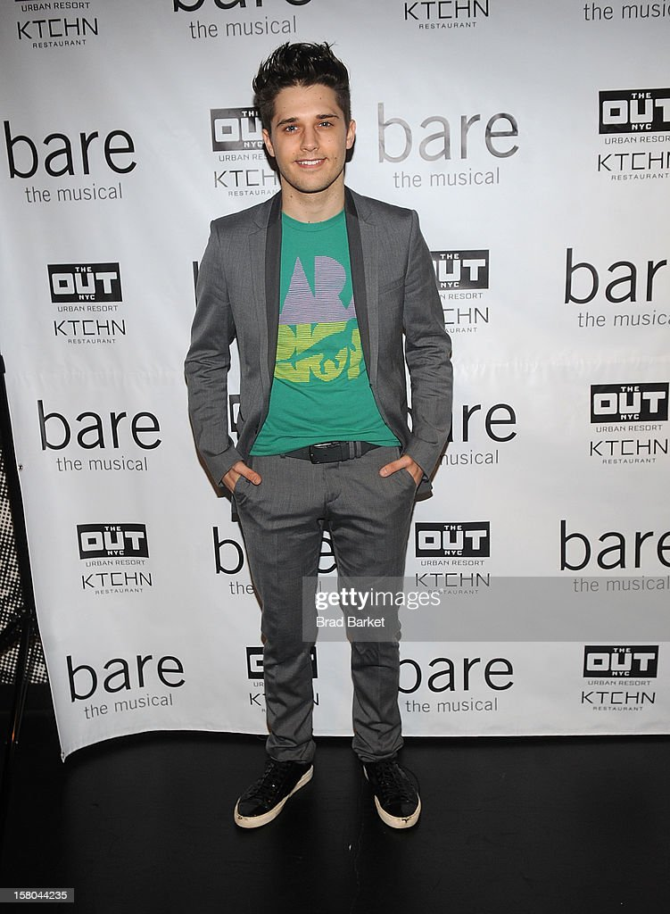 Andy Mientus attends 'BARE The Musical' Opening Night at New World Stages on December 9, 2012 in New York City.