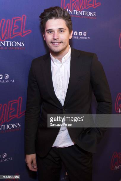 Andy Mientus attends 'Cruel Intentions' The 90's Musical Experience at Le Poisson Rouge on December 11 2017 in New York City
