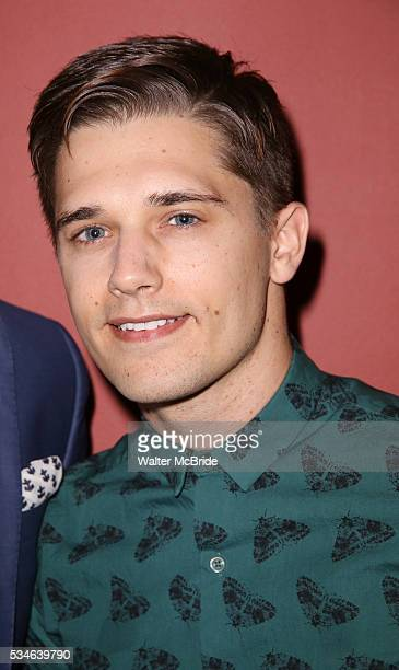 Andy Mientus attends The 66th Annual Outer Critics Circle Awards Party at Sardi's on May 26 2016 in New York City