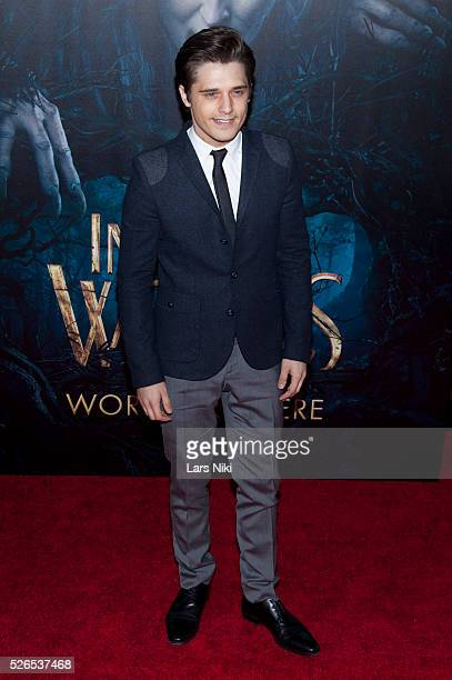 Andy Mientus attends the 'Into the Woods' premiere at the Ziegfeld Theater in New York City �� LAN
