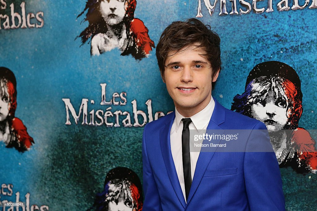 Andy Mientus attends the opening night of Cameron Mackintosh's new production of Boublil and Schonberg's 'Les Miserables' on Broadway at The Imperial Theatre on March 23, 2014 in New York City.