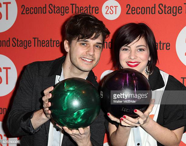 Andy Mientus Krysta Rodriguez attending the Second Stage Theatre's 26th Annual AllStar Bowling Classic at Lucky Strike Lanes Lounge in New York City...