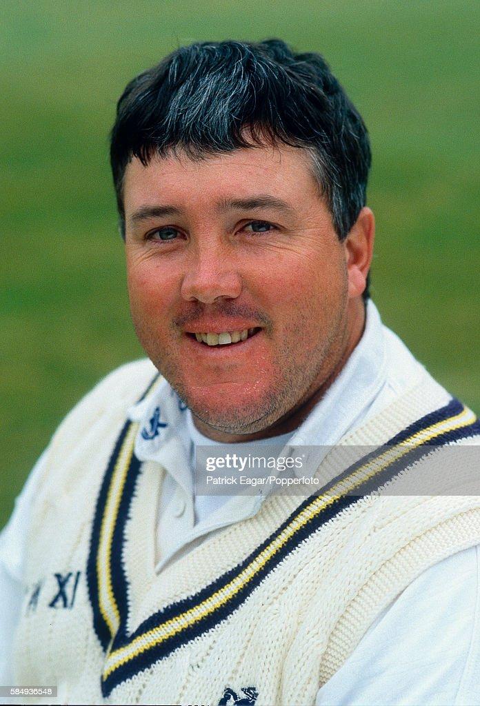Andy Moles of Warwickshire, circa April 1996.