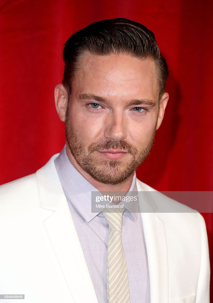 Anthony Quinlan attends the British Soap Awards 2016 at Hackney Empire on May 28, 2016 in London, England.