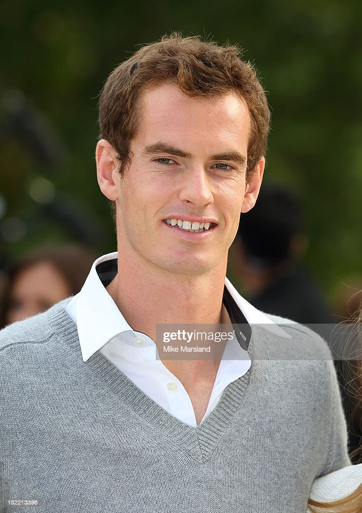 Andy Murray attends the front row for the Burberry Prorsum show on day 4 of London Fashion Week Spring/Summer 2013 on September 17, 2012 in London, England.