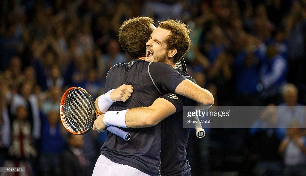 Great Britain v Australia Davis Cup Semi Final 2015 - Day 2