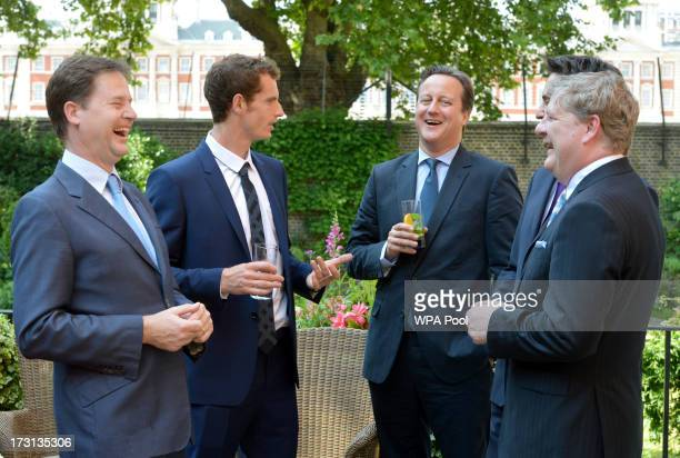 Andy Murray joins Deputy Prime Minister Nick Clegg Prime Minister David Cameron Labor leader Ed Miliband and SNP Westminster leader Angus Robinson...