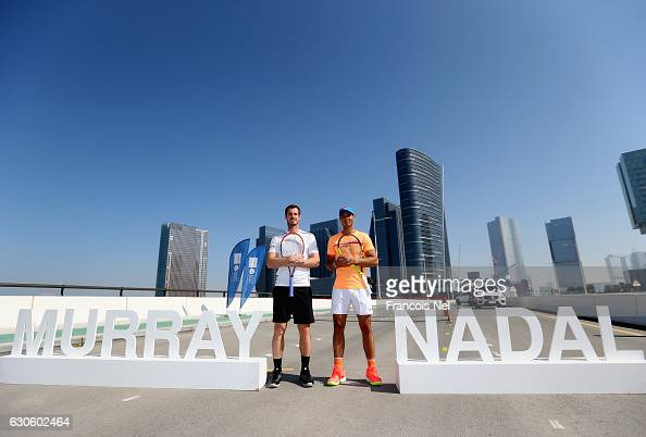Official Player Launch Of 2016 Mubadala World Tennis Championships : Photo d'actualité
