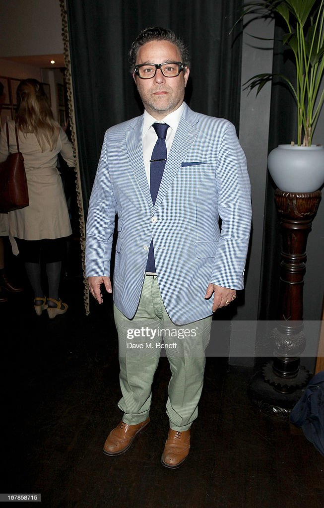Andy Nyman attends an after party celebrating the press night performance of the Menier Chocolate Factory's 'Merrily We Roll Along', following its transfer to the Harold Pinter Theatre, at Grace Restaurant on May 1, 2013 in London, England.
