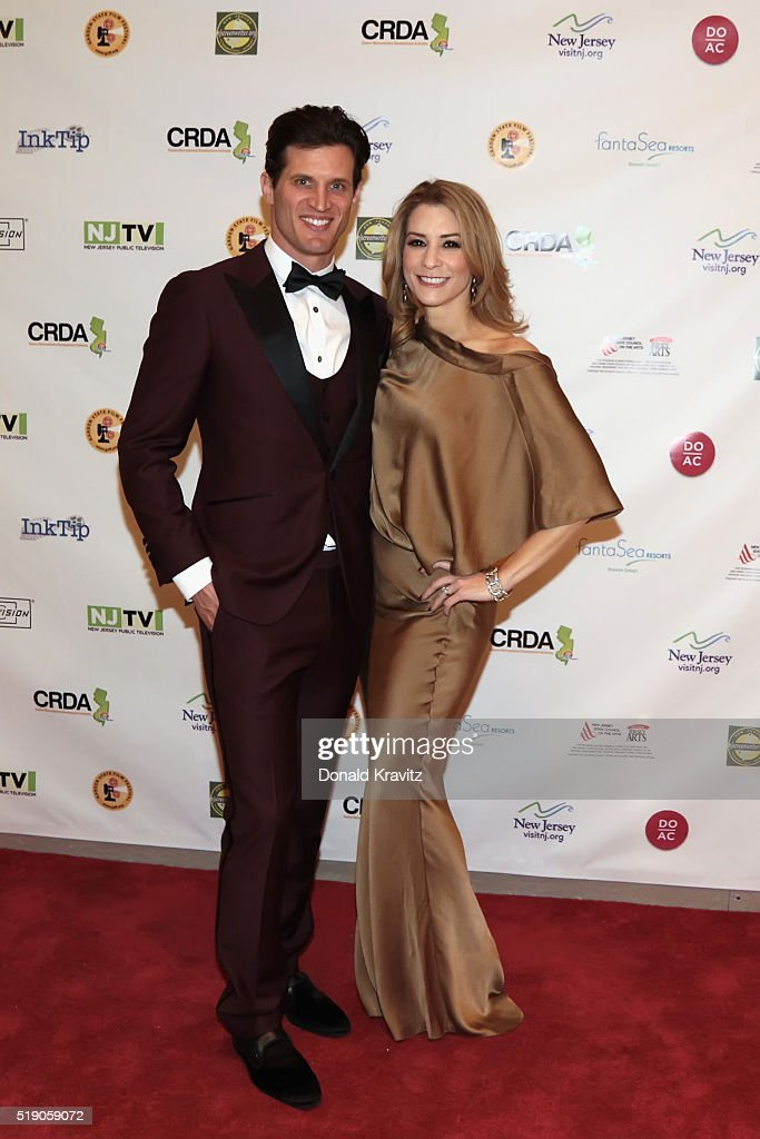 Andy Peeke and Heather Brittiain O'Scanlon Filmmaker/ Actors at Awards Dinner Cocktail Party at Holtzman Art Gallery as they attend the 14th Annual...