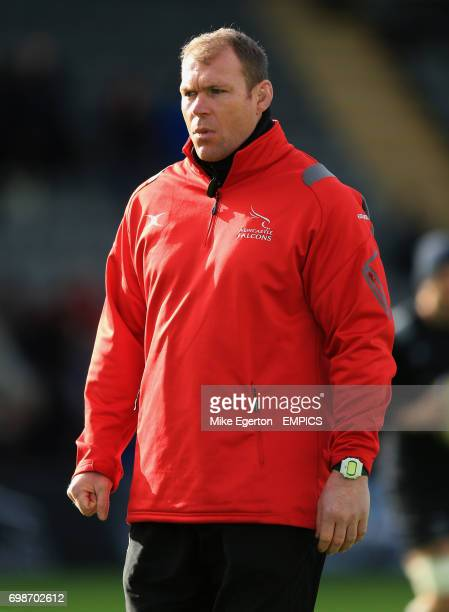 Andy Perry Newcastle Falcons first team strength and conditioning coach