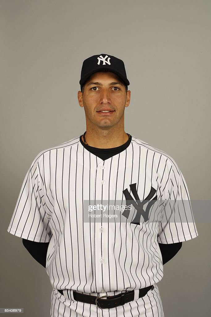 Andy Pettitte of the New York Yankees poses during Photo Day on Thursday, February 19, 2009 at Steinbrenner Field in Tampa, Florida.