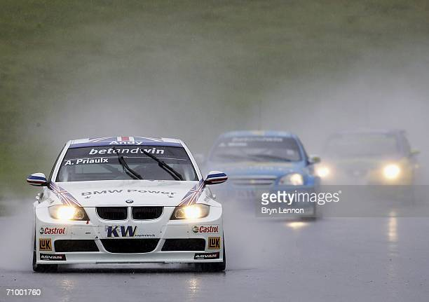Andy Priaulx of Great Britain and BMW Team UK in action during race 2 of the FIA World Touring Car Championship on May 21 2006 at Brands Hatch England