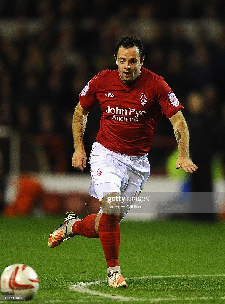 Andy Reid of Nottingham Forest in action during the npower Championship match between Nottingham Forest and Middlesbrough at the City Ground on November 6, 2012 in Nottingham, England.