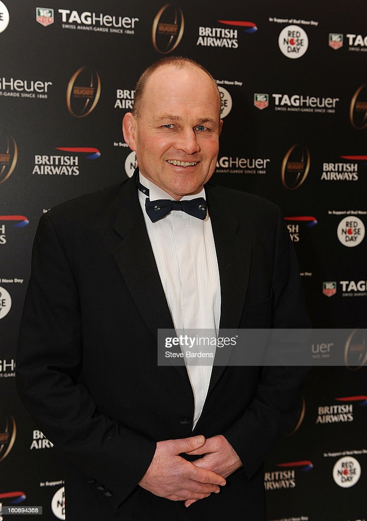 Andy Robinson during the inaugural Premiership Rugby Hall of Fame Ball at the Hurlingham Club on February 7, 2013 in London, England.