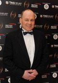 Andy Robinson during the inaugural Premiership Rugby Hall of Fame Ball at the Hurlingham Club on February 7 2013 in London England