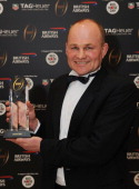 Andy Robinson inducted into the Hall of Fame during the inaugural Premiership Rugby Hall of Fame Ball at the Hurlingham Club on February 7 2013 in...